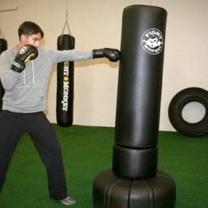 getting a cheap canvas punching bag