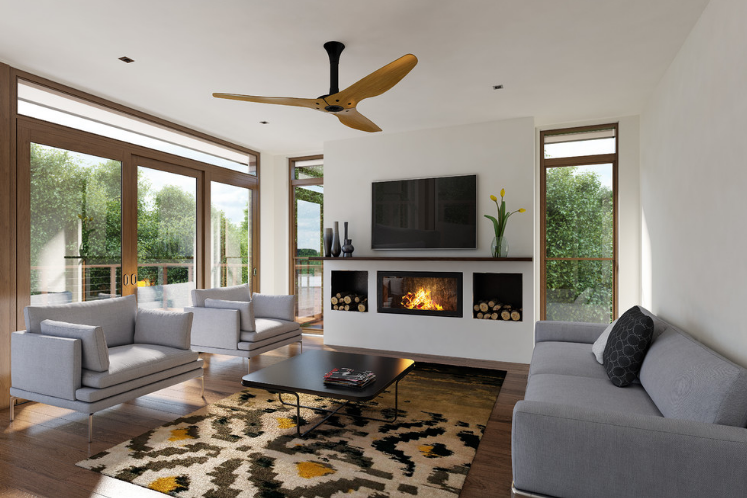 reversible ceiling fan for high ceilings